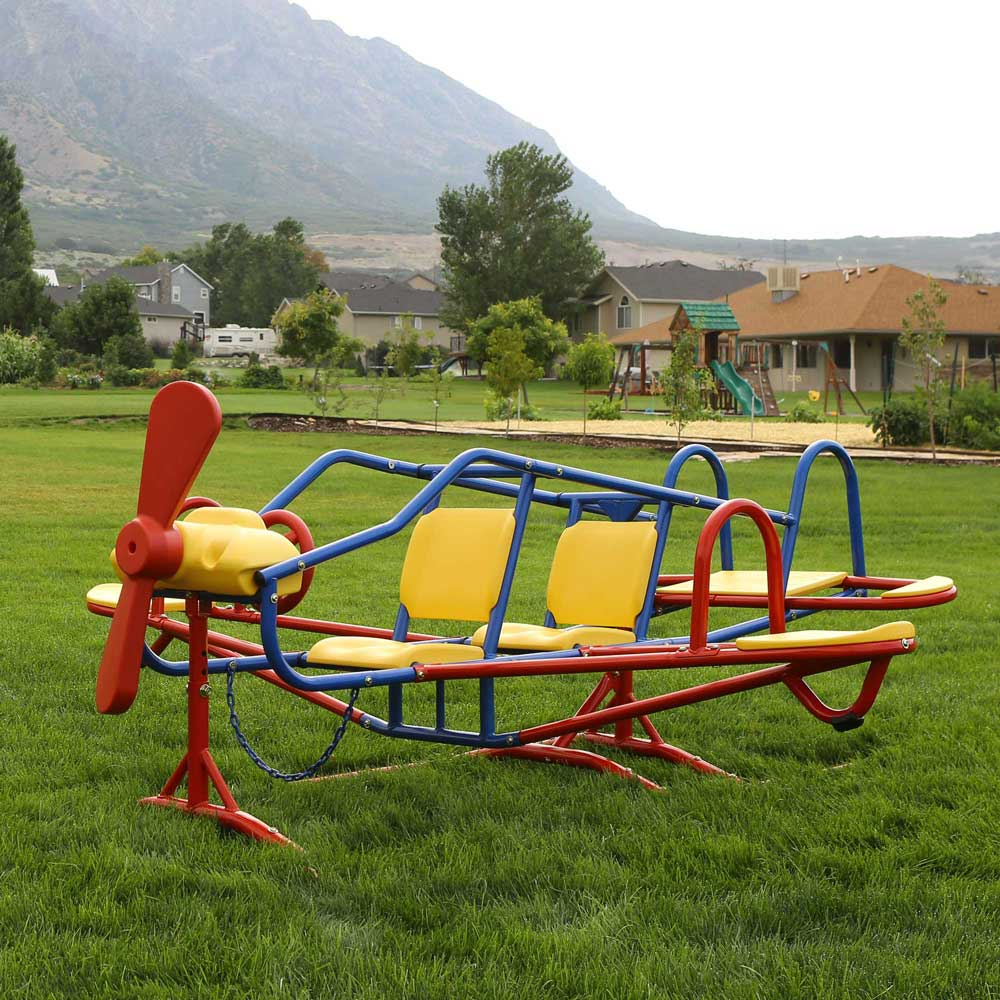 Lifetime 151110 Airplane Teeter Totter On Sale With Free