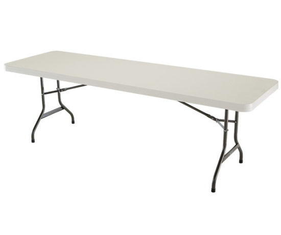 8ft Folding Table picture on Lifetime 8 Ft Rectangular Folding Table 22984 1 Pack Almond Color Top_p_138 with 8ft Folding Table, Folding Table d2564438802df90e3128b9f5837120a8