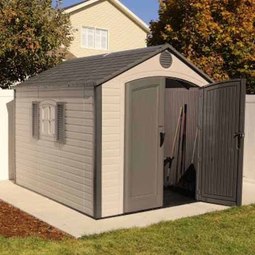 Lifetime 60056 8 X 10 Storage Shed On Sale With Fast