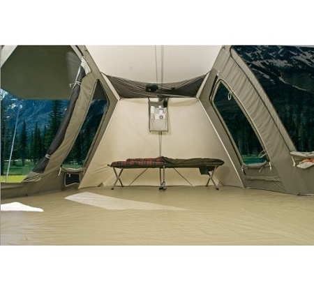 how to clean inside of tent trailer canvas