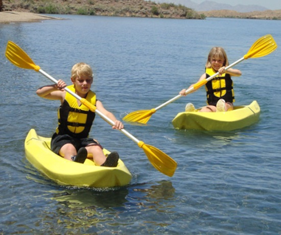 Lifetime Sit On Top Kayaks 90094 6 Foot Yellow Youth Kayak