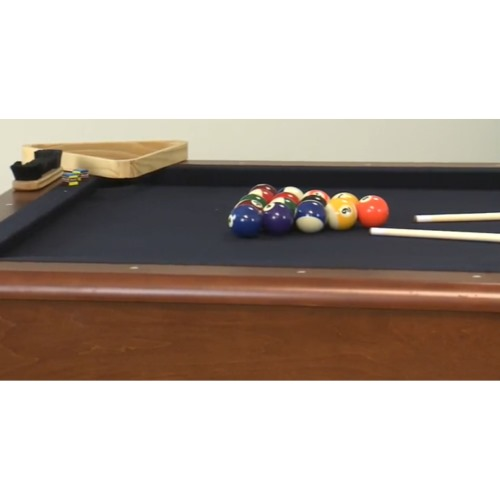 Minnesota Fats MFT Westmont Ft Billiard Table With Accessories - Minnesota fats covington billiard table