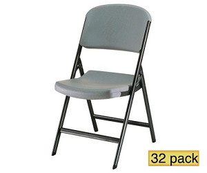 Lifetime Folding Chairs 80203 Putty Color Commercial